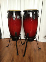 CONGAS MEINL HEADLINER® SERIES CONGA SET with stands