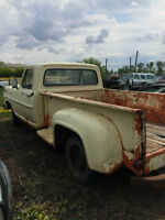 60's Ford Truck.Runs.Drives, Antique Plateable long box stepside