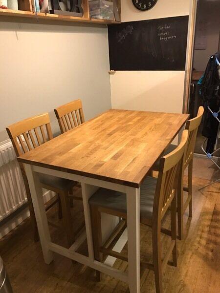 Kitchen Island John Lewis stenstorp kitchen island and 4 john lewis bar chairs | in