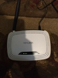 Tp link router and Zyxel modem