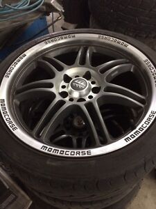 """18"""" wheels and tires 114.3 x 5 ( 4.5 x 5 )"""