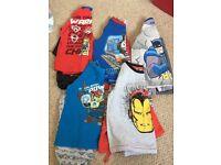 Boys pyjamas 3-4/ 4 years x 5 pairs