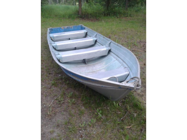 Used 1999 Smoker Craft Inc 14 Ft. Aluminum Boat