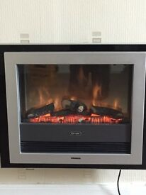 Dimplex wall mounted fire
