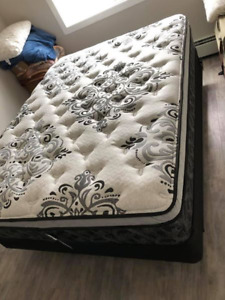 Queen Bed Set, TV, Stand, Coffee Table, Bar Stools, Stand