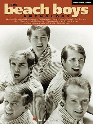 The Beach Boys Anthology Sheet Music Piano Vocal Guitar Songbook NEW 000306433 on Rummage
