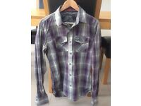 Large checked Superdry shirt - almost new