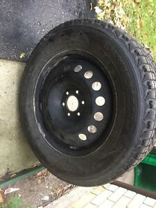New winter tires and rims $700 Or Best Offer London Ontario image 3