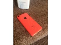 iPhones 5c 32gb pink boxed ideal Christmas present