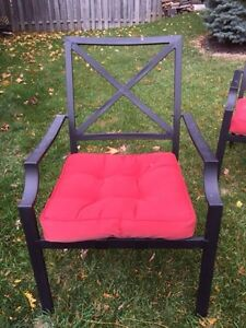 Patio chairs and cushions  Cambridge Kitchener Area image 2