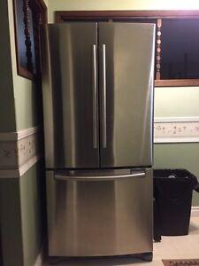 Samsung fridge. French door Stainless Steele