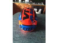 Fox motocross helmet worn once Mx size large