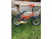 Boys 14inch wheel bike