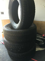235/60r/16 ALL SEASON TIRES LIKE NEW ONLY $400.00!!!!