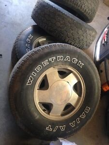 """16"""" GM wheels and tires"""