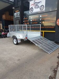 7x5 Hot Dipped Galvanized Box Trailer ALL EXTRAS INCLUDED! Morayfield Caboolture Area Preview