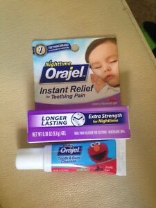 Orajel nighttime plus tooth and gum cleaner Kitchener / Waterloo Kitchener Area image 2