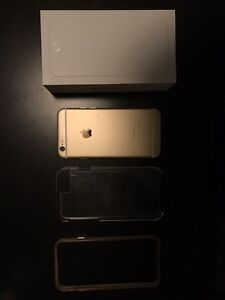 iPhone 6 champagne gold 128 GB unlocked