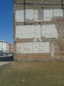 Wall space for lease