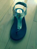 Michael kors sandals size 12 (child)