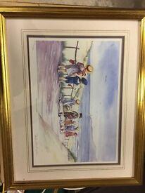 Five Faye Whittaker limited addition prints