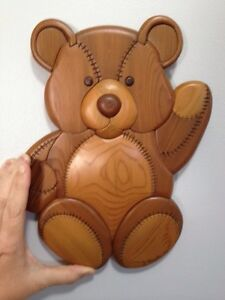 Wood carving, locally crafted
