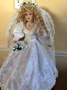 Bride Doll with blusher on veil St. John's Newfoundland image 2