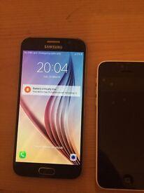 2 broken phones