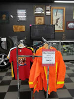 Leather, Winter, Skidoo, Safety Rain Jackets, Vests & Tshirts