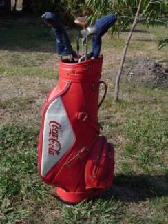 Coca Cola collector Golf Bag Aspendale Gardens Kingston Area Preview