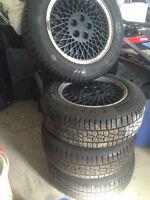 205/60/15 Winter Tires with Bonus 5x100 Rims