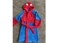 Spider-Man dressing gown aged 4-5