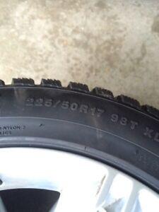 Kumho winter on alloy rims 225/50/17 London Ontario image 5