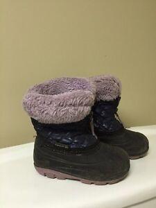 Girls winter boots girl
