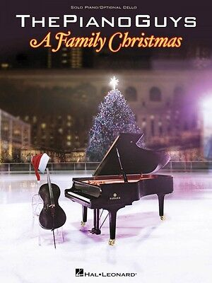 The Piano Guys A Family Christmas Sheet Music Book NEW 000123361