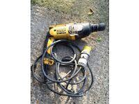 DeWalt 110V Hammer Drill