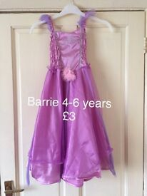 Job lot girls fancy dress range 3-10 years