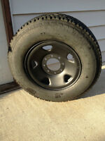 "Ford Superduty 17"" steel wheel F-350/ F250 Wheel 245/75-17"""