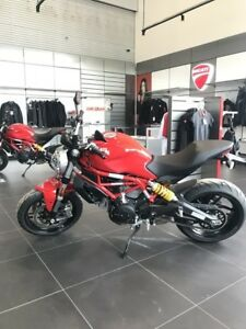 2017 Ducati Monster 797 Ducati Red