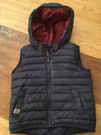 Next sleeveless puffer jacket