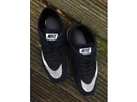 nike shoes flyknit racer running size 8.5 black