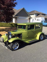 """1930 """"Kermit the Frog"""" Model A Ford"""