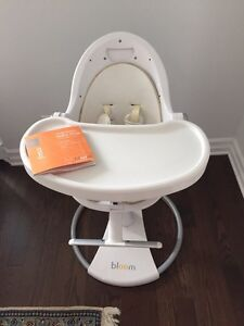 Bloom fresco high chair - white