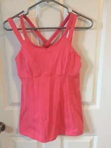 lululemon tank with support bra