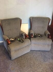 Two Electric Mobility Chairs Free Collection Only