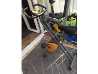 Golds gym stationary bicycle