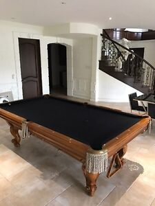 8ft POOL TABLE BY CANADA BILLARDS Kingston Kingston Area image 1