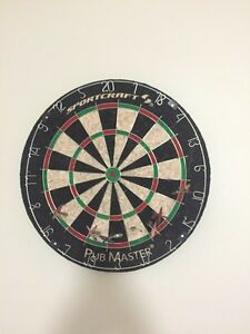 Dart board and  darts  Stratford Kitchener Area image 1