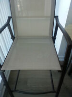 Selling Ikea GRUNNET outdoor bar stools / chairs