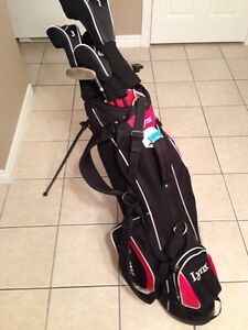 LYNX Left handed  golf clubs for sale!!